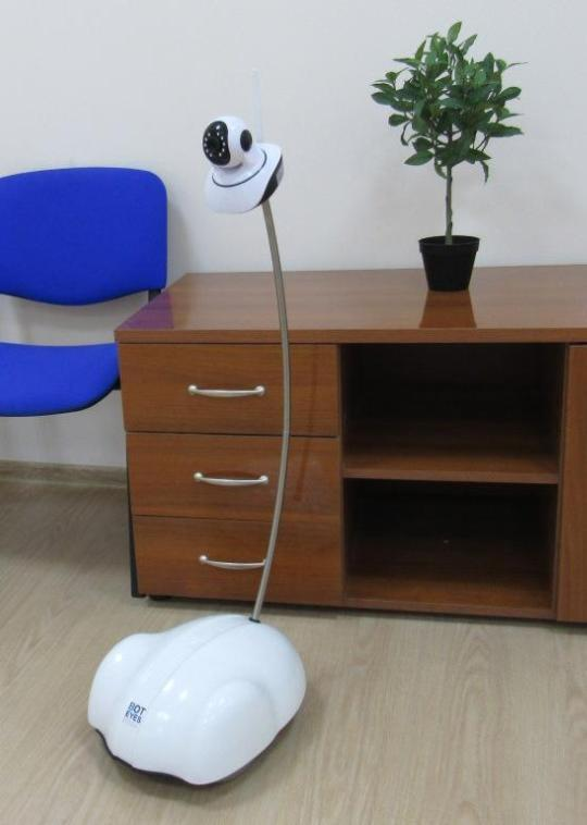 The telepresence robot BotEyes-Mini